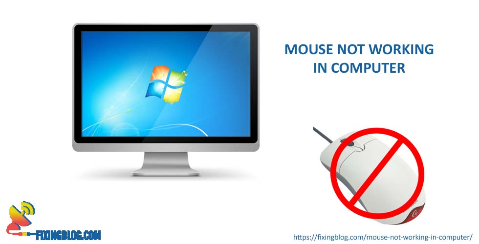 Mouse is not working in computer