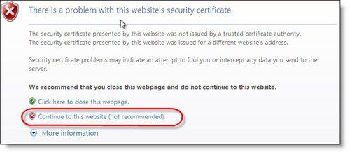 owa-certificate-error