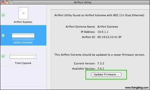 Update Your Apple Firmware