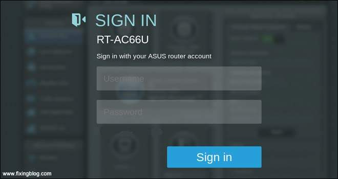 How To Access And Login To Asus Router Setup Page ? | Fixingblog.com