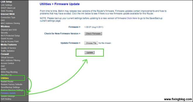 Update Your Firmware