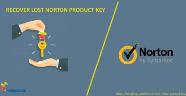 RECOVER LOST NORTON PRODUCT KEY