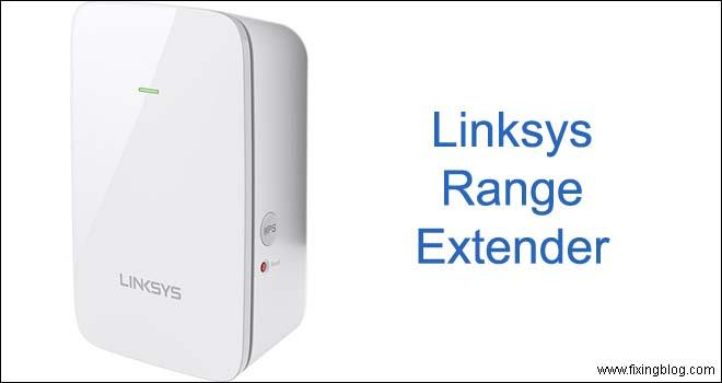 Linksys range extender