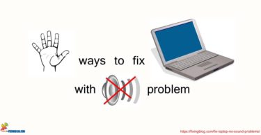 FIX LAPTOP BY NO SOUND PROBLEM