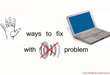 FIX LAPTOP BY NO SOUND PROBLEM