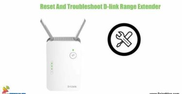 reset and trouble shoot dlink router