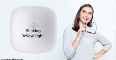 belkin range extender Blinking Yellow
