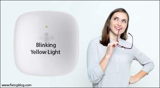 Fix Belkin Range Extender Blinking Yellow Light