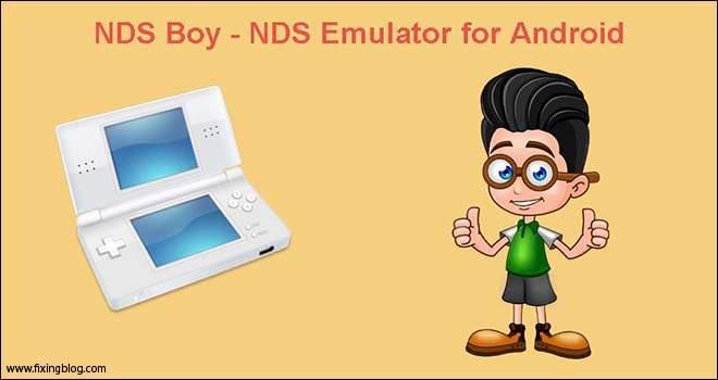 NDS Boy –NDS Emulator