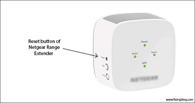 How To Reset Netgear Range Extender | Fixingblog com