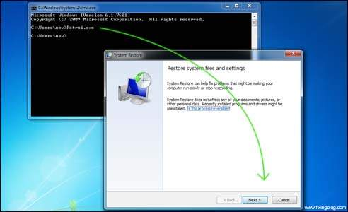 how to get launch startup repair windows 7 hp