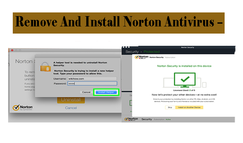 uninstall norton antivirus