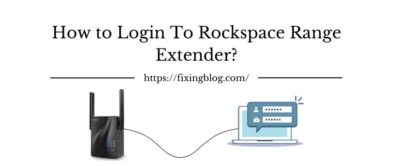 How to setup Rockspace Range Extender?