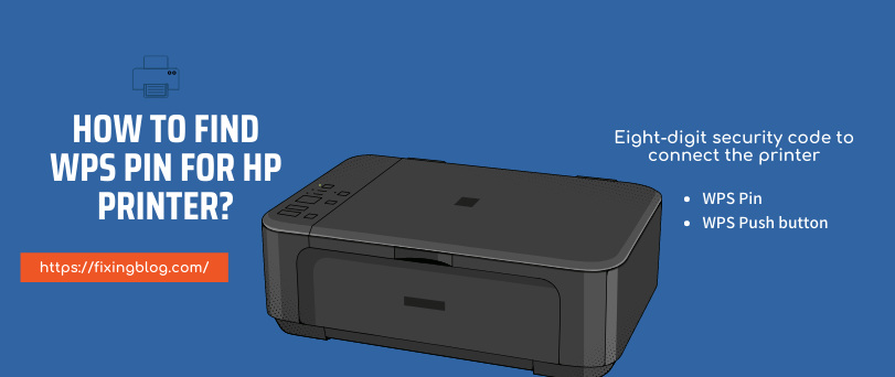How to find WPS pin for Hp printer?