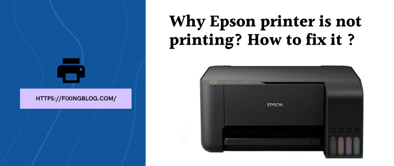 Why Epson Printer Won't print? How to Get it Printing Again?